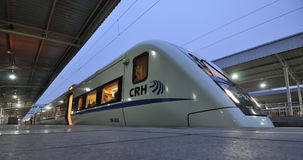 Chinese CRH  fast train Royalty Free Stock Photo