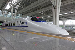 Chinese CRH fast train royalty free stock image