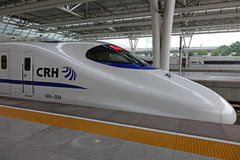 Chinese CRH  fast train Stock Photos