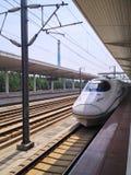 Chinese CRH High Speed Railway. Train stock image