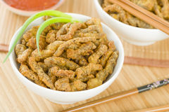 Chinese Crispy Beef Stock Photo