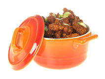 Chinese Crispy Chilli Beef Royalty Free Stock Image
