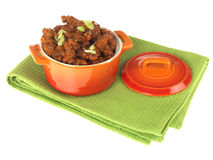 Chinese Crispy Chilli Beef Royalty Free Stock Photo