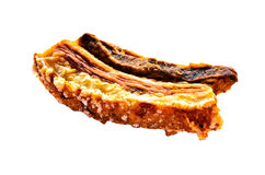 Chinese crispy roasted belly pork Royalty Free Stock Photos
