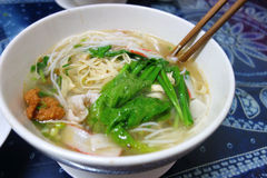 Chinese  cross bridge rice noodle Stock Images