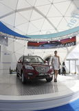 Chinese the crossover LIFAN X60 Royalty Free Stock Image