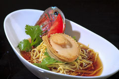 Chinese cuisine abalone Royalty Free Stock Image