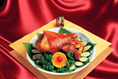 Chinese Cuisine,Braised elbows. Stock Photography