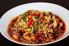 Free Chinese Cuisine - Chicken Stock Images - 129296234
