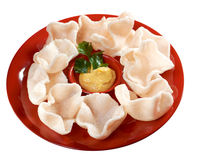 Chinese cuisine .Chinese dim sum appetizers Royalty Free Stock Photo
