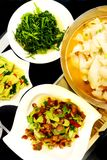 Chinese cuisine dishes, Szechuan restaurant Stock Image