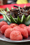 Chinese cuisine with meat and vegetables Royalty Free Stock Image