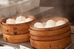 Chinese cuisine-Steamed stuffed bun Stock Image