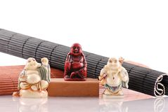 Chinese Cultural Buddha Statues Royalty Free Stock Image