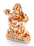 Chinese culture figurine on a white bacgroung Royalty Free Stock Photography