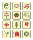 Chinese culture icons | BAMBOO series vector illustration