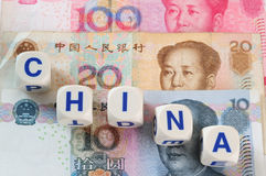 Chinese currencies. Stock Images