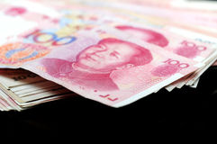 Chinese currency Royalty Free Stock Images