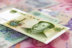 Chinese currency Royalty Free Stock Photo