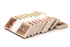 Chinese currency JIAO Royalty Free Stock Photo