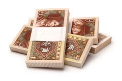 Chinese currency JIAO Royalty Free Stock Image