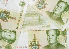 Chinese currency Stock Photography