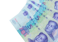Chinese currency (renminbi) Stock Image