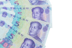 Chinese currency (renminbi) Stock Photo