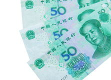 Chinese currency (renminbi) Stock Photography