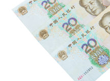 Chinese currency (renminbi) Royalty Free Stock Photo