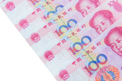 Chinese currency (renminbi) Stock Photos