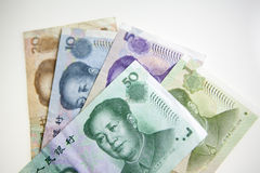 Chinese Currency or yuan Royalty Free Stock Photography