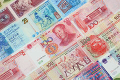 The Chinese currency Royalty Free Stock Images