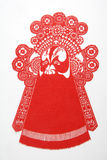 Chinese cut paper Stock Image