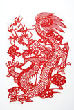 Chinese cut paper Royalty Free Stock Photos