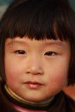chinese cute girl winter Στοκ Εικόνες
