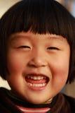 chinese cute girl winter Στοκ Φωτογραφίες