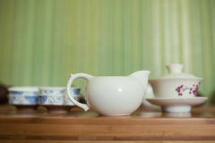 Chinese cute tea kettles set; Stock Photo