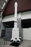 Chinese cz-3b space rocket model Stock Images