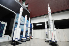 Chinese cz series space rockets Stock Image