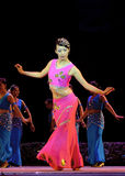 Chinese Dai ethnic dance Royalty Free Stock Photography