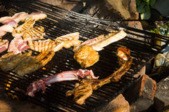 Chinese Dai people's barbecue Royalty Free Stock Photography