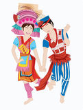 Chinese dance Royalty Free Stock Images