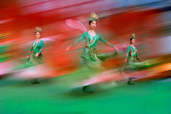 Chinese dance  5 Royalty Free Stock Image