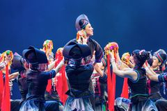 Chinese dance collection Royalty Free Stock Photography