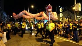 chinese dance dragon Obraz Royalty Free