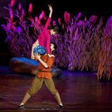 Chinese dance drama : Railway Guerrillas Royalty Free Stock Images