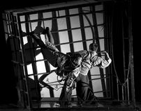 Chinese dance drama : Railway Guerrillas Stock Photo