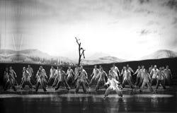 Chinese dance drama : Railway Guerrillas Stock Image