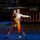 Chinese dance drama : Railway Guerrillas Royalty Free Stock Photos